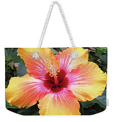 What A Beauty Weekender Tote Bag by Vickie G Buccini