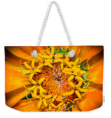 What A Bee Sees Weekender Tote Bag by Kenneth Cole