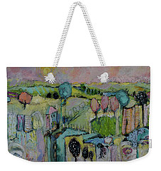 What A Bird Sees Weekender Tote Bag by Sharon Furner