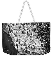 What Are Waves, Black And White Weekender Tote Bag