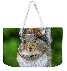 Weekender Tote Bag featuring the digital art What Are You Looking At by Randy Steele