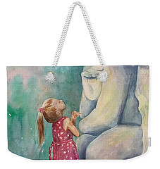 What Are You Thinking? Weekender Tote Bag