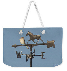What Did You Say Weekender Tote Bag by Donna Brown