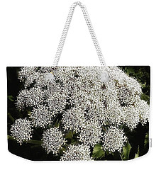 Weekender Tote Bag featuring the photograph What Flower Is This? I Think It's by Mr Photojimsf