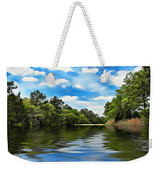 What I Remember About That Day On The River Weekender Tote Bag