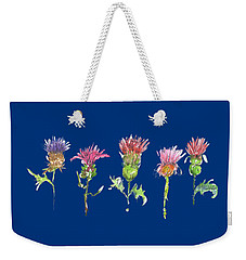 What Is It About A Thistle Fl006 Weekender Tote Bag