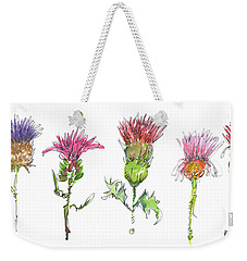 What Is It About A Thistle Weekender Tote Bag