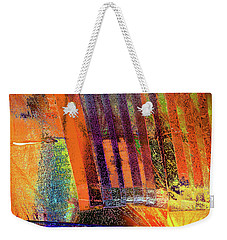 What Lies Behind Weekender Tote Bag by David Pantuso
