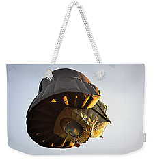 Weekender Tote Bag featuring the photograph What Lies Beneath by AJ Schibig
