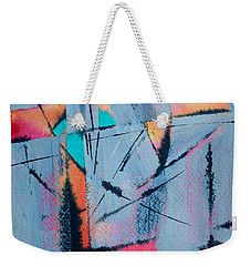 What Lies Beneath Weekender Tote Bag by Nancy Jolley