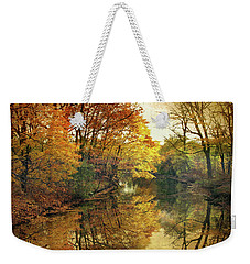 Weekender Tote Bag featuring the photograph What Remains by Jessica Jenney
