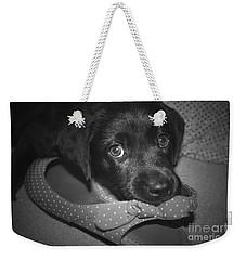 What Shoe Weekender Tote Bag
