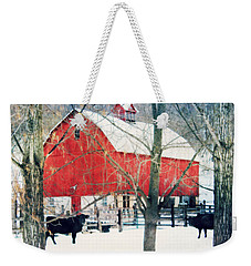 Whatcha Looking At Weekender Tote Bag by Julie Hamilton