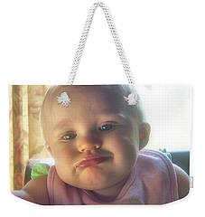 Whatever Baby Weekender Tote Bag