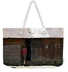 Whats Inside Weekender Tote Bag