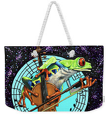 What's It All About Froggy? Weekender Tote Bag