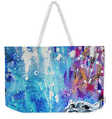 What's Up? Weekender Tote Bag by Betty M M Wong