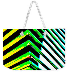 Whats Your Angle Weekender Tote Bag