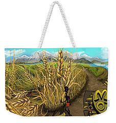 Wheat Field Day Dreaming Weekender Tote Bag