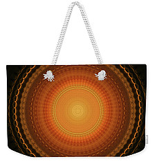 Wheel Kaleidoscope Weekender Tote Bag
