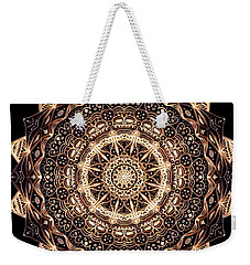 Wheel Of Life Mandala Weekender Tote Bag