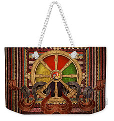 Wheel Of The Dharma Weekender Tote Bag