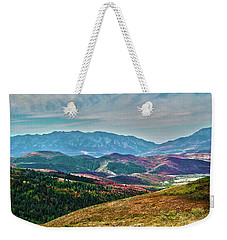 Wheeler Peak Weekender Tote Bag
