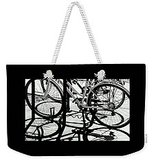 Wheels Weekender Tote Bag by David Gilbert