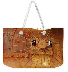Wheels Of Progress #2 Weekender Tote Bag