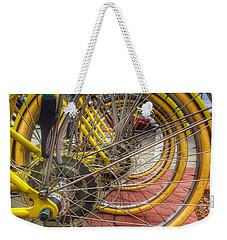 Wheels Within Wheels Weekender Tote Bag