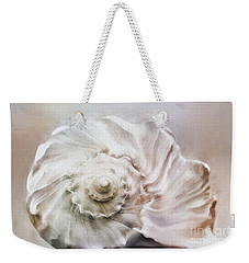 Weekender Tote Bag featuring the photograph Whelk Shell by Benanne Stiens