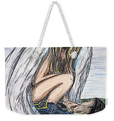 When Angels Cry Weekender Tote Bag