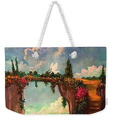 When Angels Garden In Heaven Weekender Tote Bag