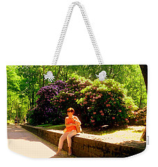 When Blooming Lilacs Weekender Tote Bag