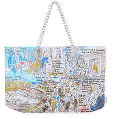 When I'm Sixty-four Weekender Tote Bag