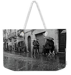 When It Rains It Pours Weekender Tote Bag
