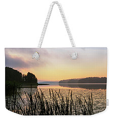 When The Day Is Dawning At The Lake Enajarvi Weekender Tote Bag