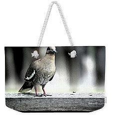 When The Doves Cry Weekender Tote Bag