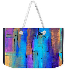 When The Lines Blur Weekender Tote Bag