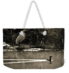 When The Morning Fog Lifted Weekender Tote Bag