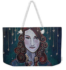 When The Stars Fall For Brandi Carlile Weekender Tote Bag