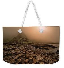 Sunset At Giant's Causeway Weekender Tote Bag by Jaroslaw Blaminsky