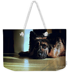 When Their Eyes Look At Your Soul Weekender Tote Bag