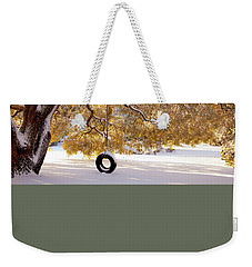 Weekender Tote Bag featuring the photograph When Winter Blooms by Karen Wiles