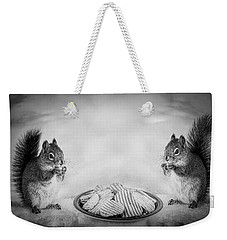 When You Lose Your Nuts There Is Always Chips Weekender Tote Bag by Bob Orsillo