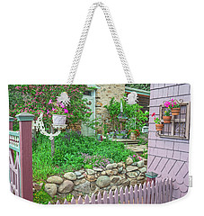 When You're In Idaho Springs, Colorado, Have A Beer With Us In Our Backyard. Cool Your Pipes Here. Weekender Tote Bag