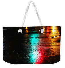 Whenever It Rains Weekender Tote Bag