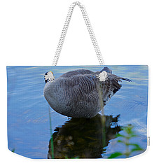 Weekender Tote Bag featuring the photograph Where Are You Shadow by Sher Nasser