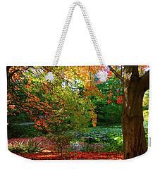 Where Autumn Lingers  Weekender Tote Bag
