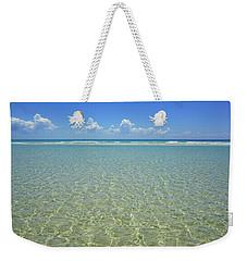 Where Crystal Clear Ocean Waters Meet The Sky Weekender Tote Bag